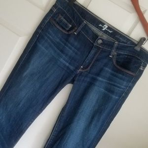 """7 For All Mankind 31 Actual 34.5""""x32.5"""" Straight"""